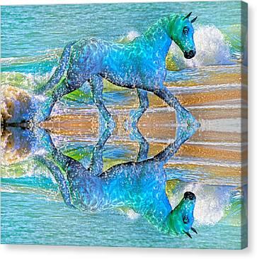 Oceans Canvas Print by Betsy Knapp