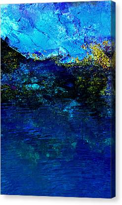Oceans Edge Canvas Print by Michael Nowotny