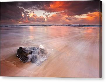 Ocean's Light Canvas Print