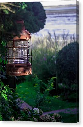 Oceanside Lantern Canvas Print by Patrice Zinck