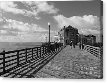Oceanside Pier Canvas Print