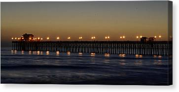 Oceanside Pier Canvas Print by Richard Cheski