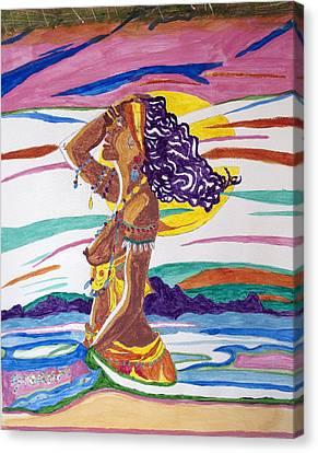 Orishas Canvas Print - Ochun  by Stormm Bradshaw