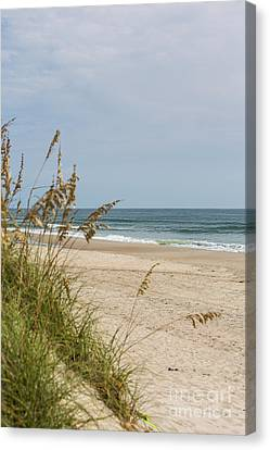 Ocracoke Beach Canvas Print by Kay Pickens
