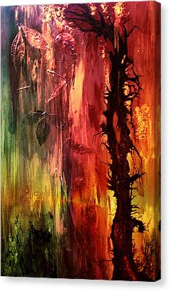 October Abstract Canvas Print by Patricia Motley