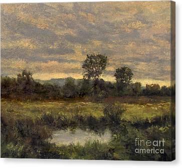 October Evening Storm Canvas Print by Gregory Arnett