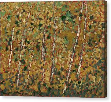 October Gold Canvas Print