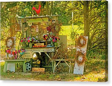 October Is Bittersweet Time On Cape Cod Canvas Print by Constantine Gregory