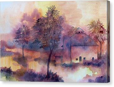 October Canvas Print by James Huntley
