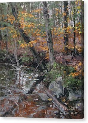 October Leaves Canvas Print by Gregory Arnett