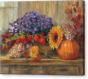 October Still Life Canvas Print