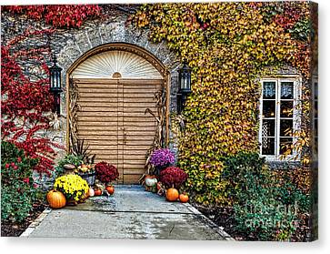 October Welcome Canvas Print