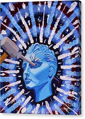 Ocular Migraine Canvas Print by Vicki Maheu