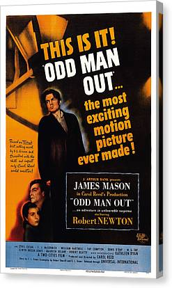 Odd Man Out, Us Poster Art, From Left Canvas Print by Everett