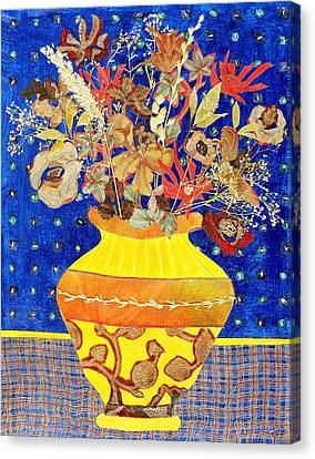 Ode To A Grecian Urn Canvas Print by Diane Fine