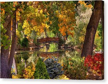 Ode To Autumn Canvas Print by Donna Kennedy