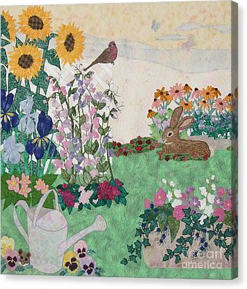 Ode To Henry And Joys Of Nature Canvas Print by Denise Hoag