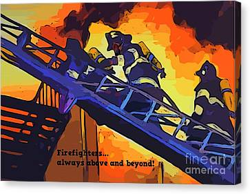 Ode To Our Heros Canvas Print by John Malone