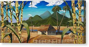 Plantation Canvas Print - Ode To Plantation Rum by Travis Stewart