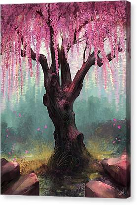 Ode To Spring Canvas Print by Steve Goad