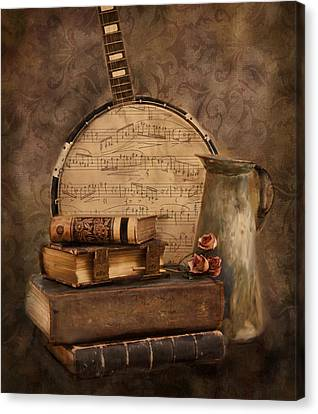 Ode To The Old Canvas Print by Robin-Lee Vieira