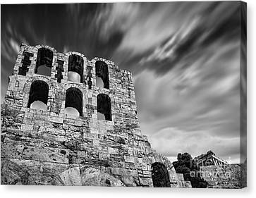Odeon Of Herodes Atticus - Athens Canvas Print