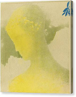 Odilon Redon French, 1840 - 1916, Béatrice Canvas Print by Quint Lox