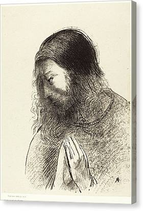 Odilon Redon French, 1840 - 1916, Cest Moi Canvas Print by Quint Lox