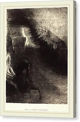 Odilon Redon French, 1840-1916, Pélerin Du Monde Canvas Print by Litz Collection