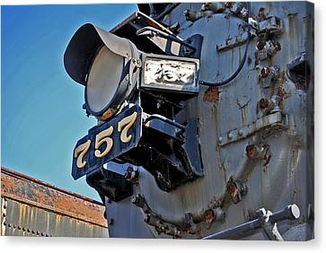 Of Rust And Power Canvas Print by Skip Willits