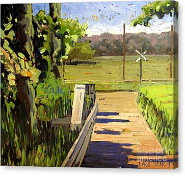 Off Daniels Road Canvas Print by Charlie Spear