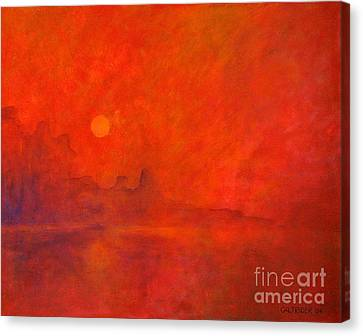 Off In The Distance Canvas Print by Alison Caltrider
