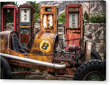 Off Road Gas Station Canvas Print by Georg Beyer
