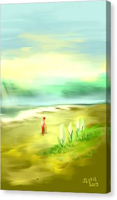 Off The Beaten Path Canvas Print by Jessica Wright