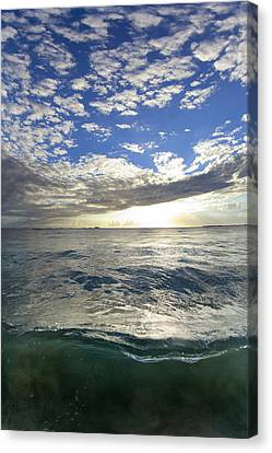 Off The Page Canvas Print