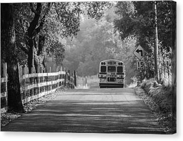 Off To School 2 Canvas Print