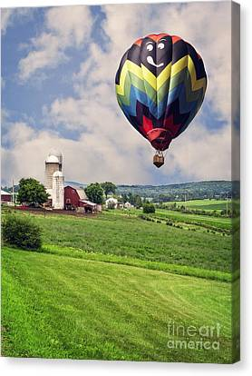 Off To The Land Of Oz Canvas Print by Edward Fielding