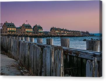 Officers' Row Canvas Print by Kristopher Schoenleber