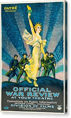 Official War Review Canvas Print