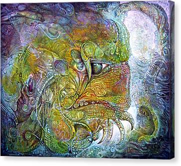 Offspring Of Tiamat - The Fomorii Union Canvas Print by Otto Rapp