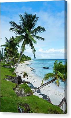 Ofu Island, Manu'a Island Group Canvas Print by Michael Runkel