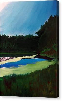 Oglebay Park - Palmer Course Canvas Print