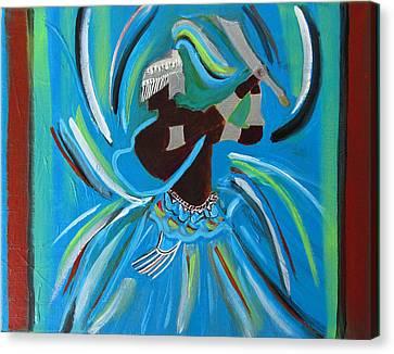 Ogum Canvas Print by Fatima Neumann
