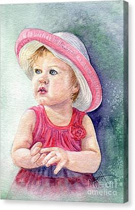 Oh Baby Canvas Print by Marilyn Smith