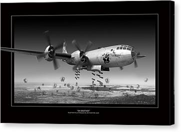 Oh Brother Canvas Print by Larry McManus