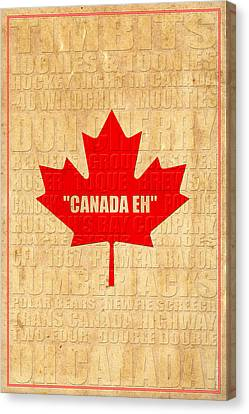 Oh Canada Canvas Print by Andrew Fare