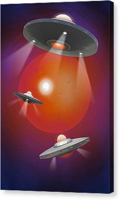 Oh - I Believe 4 Canvas Print by Mike McGlothlen