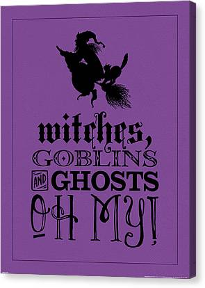 Oh My Canvas Print by Katie Pertiet