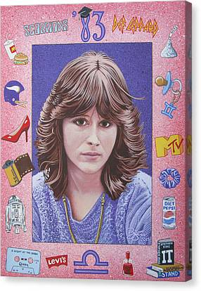 Oh Sherrie Canvas Print by Lance Bifoss