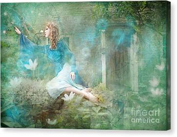 Oh Spring Oh Where Are You Canvas Print by Angel  Tarantella